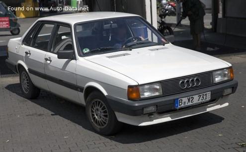 1985 AUDI 80